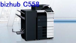 bizhub c558