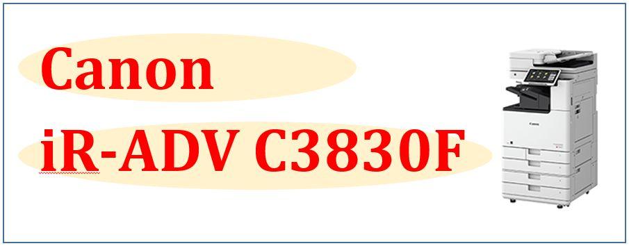 iR-ADV C3830F