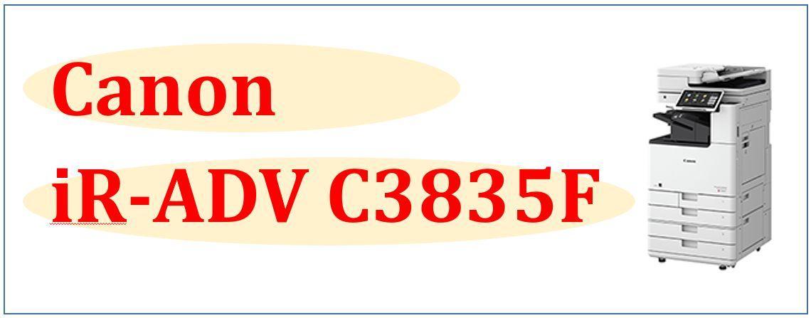 iR-ADV C3835F